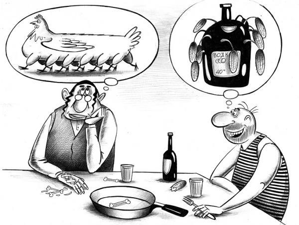 Карикатура: Мечты, Сергей Корсун