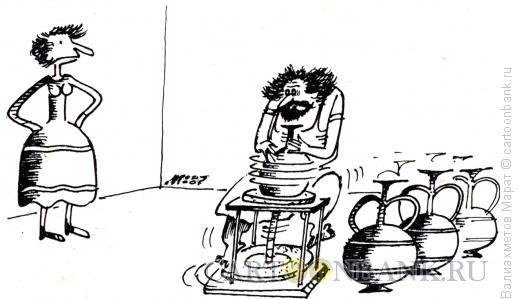 Карикатура: Ремесленник, Валиахметов Марат