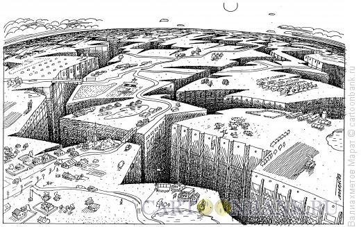 Карикатура: Город, Валиахметов Марат