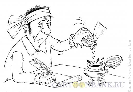 Карикатура: Лекарство от мигрени, Смагин Максим