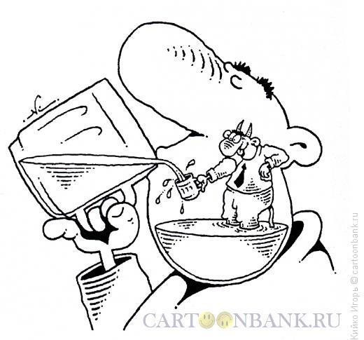 Карикатура: Чертово пиво, Кийко Игорь