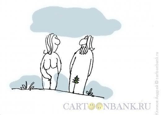 Карикатура: Эдем, Климов Андрей