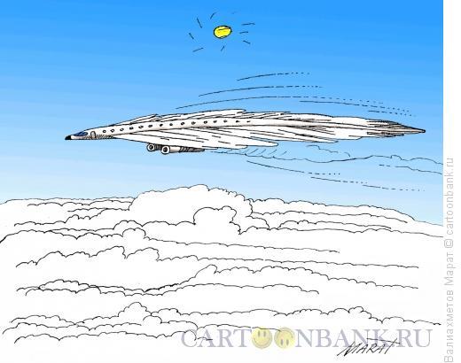 Карикатура: Самолет, Валиахметов Марат