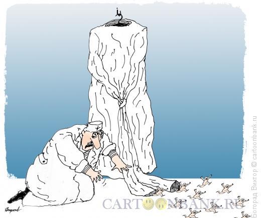 Карикатура: Побег, Богорад Виктор
