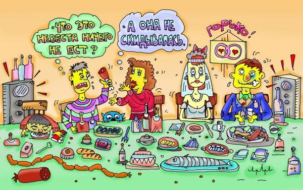 Карикатура: так теперь с голоду сдыхать что-ли?, leon2008