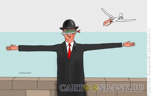 Карикатура: Рыбацкая байка, Тарасенко Валерий
