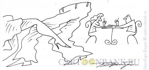 Карикатура: Танец, Эренбург Борис