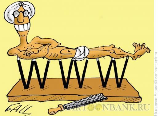 Карикатура: WWW, Цыганков Борис