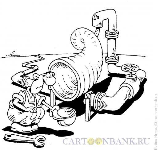 Карикатура: Рог изобилия, Кийко Игорь
