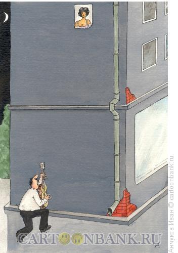 Карикатура: серенада, Анчуков Иван