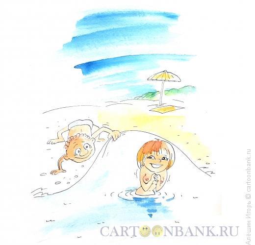 Карикатура: юность время великих открытий, Алёшин Игорь