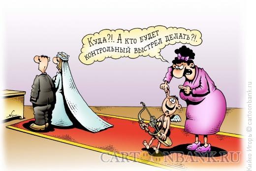 Карикатура: Контрольная стрела, Кийко Игорь