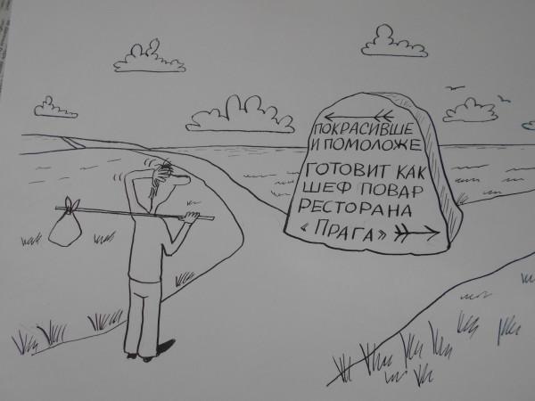 Карикатура: выбор, Петров Александр