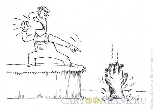 Карикатура: Завод-банкрот, Смагин Максим