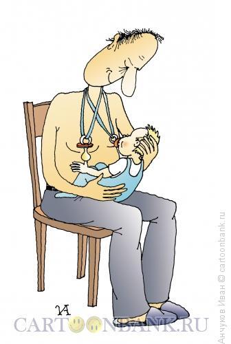 Карикатура: Материнство, Анчуков Иван