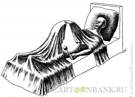 Карикатура: барабан, Гурский Аркадий