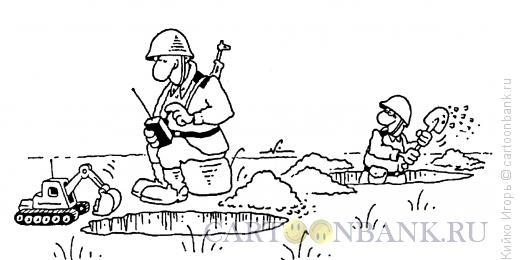 Карикатура: Креативный воин, Кийко Игорь