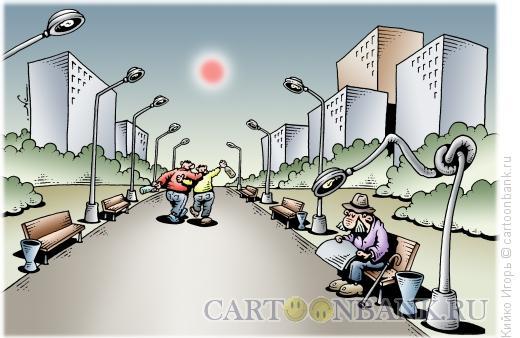 Карикатура: Доброе дело, Кийко Игорь