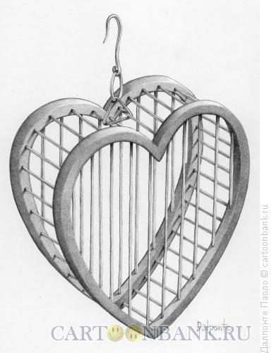 Карикатура: Одинокая любовь, Далпонте Паоло