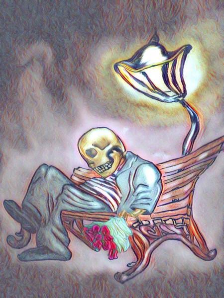 Карикатура: Вот это любовь., AlexKorn4870