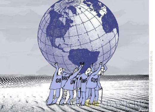 Карикатура: Команда инвалидов, Богорад Виктор
