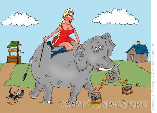 Карикатура: Колодец, Тарасенко Валерий