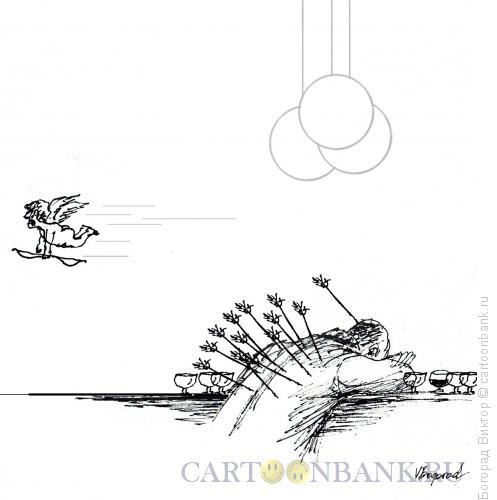 Карикатура: Месть Купидона, Богорад Виктор