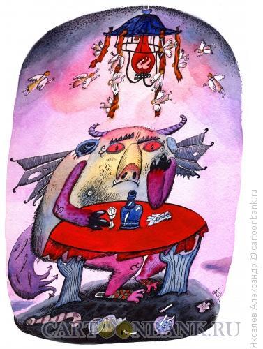 Карикатура: Дьявол, Яковлев Александр