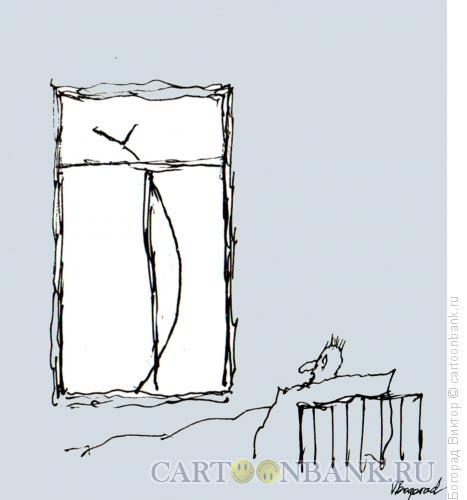 Карикатура: Утро пессимиста, Богорад Виктор