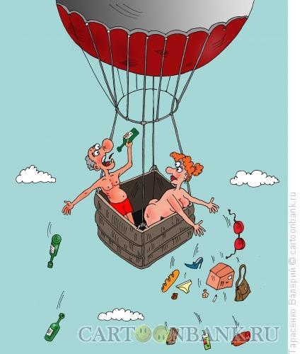 Карикатура: Прерванный полёт, Тарасенко Валерий