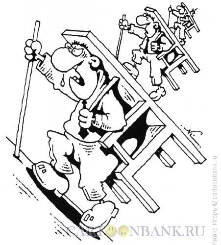 Карикатура: Наверх!, Кийко Игорь