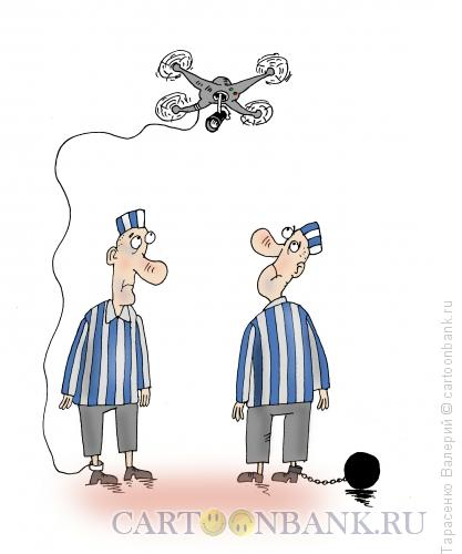 Карикатура: Надзор, Тарасенко Валерий
