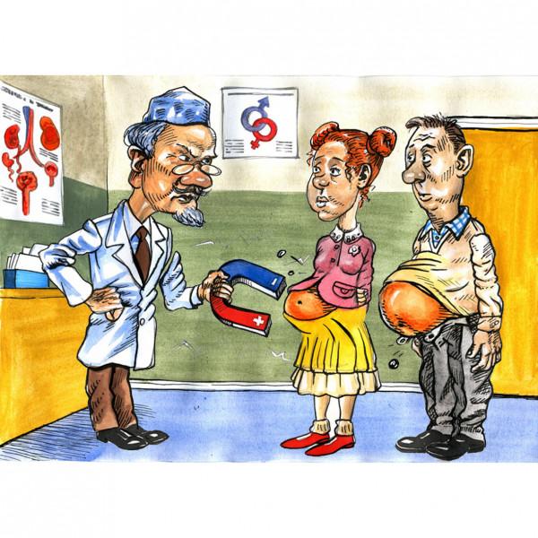 Карикатура: Чудо доктор Айболит, AZART