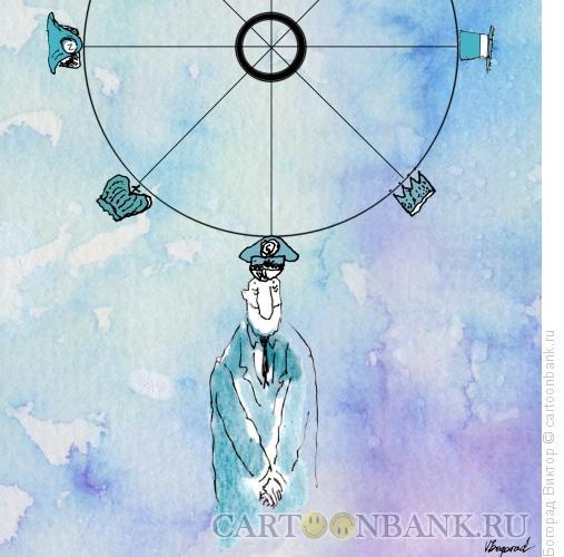 Карикатура: Неизменное желание власти, Богорад Виктор
