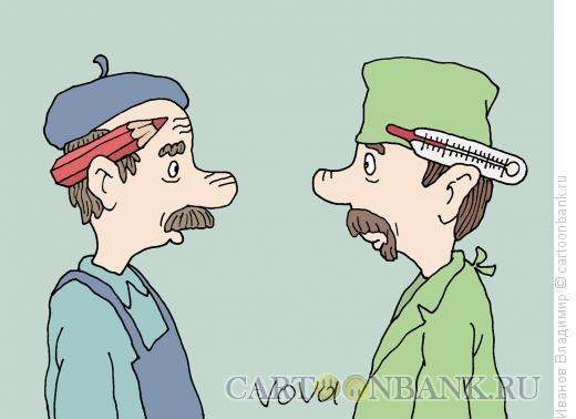 Карикатура: Мастера, Иванов Владимир