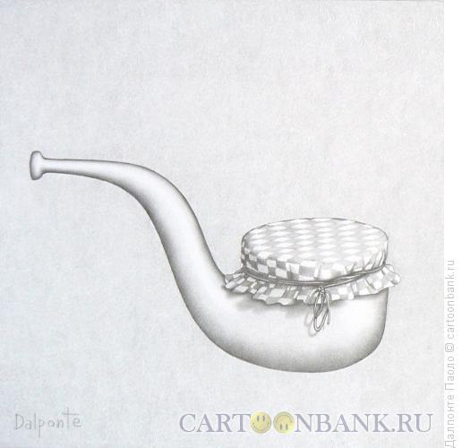 Карикатура: трубка с вареньем, Далпонте Паоло