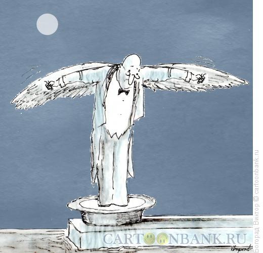Карикатура: Жертва разборки, Богорад Виктор