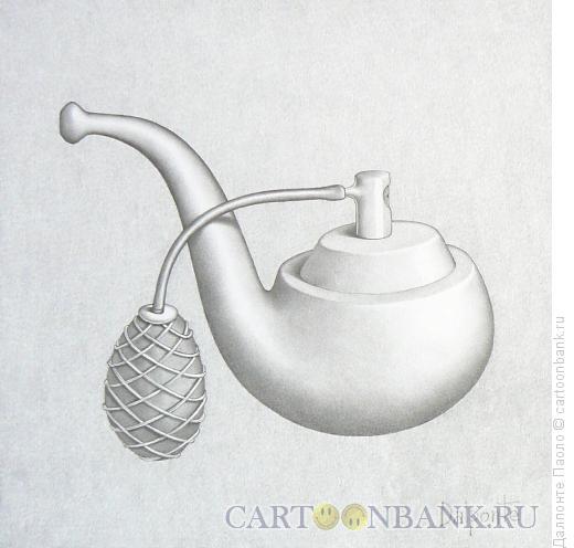 Карикатура: pipe-parfume, Далпонте Паоло