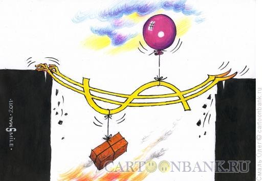 Карикатура: Доллар, Смаль Олег