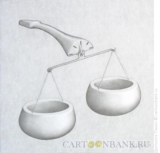 Карикатура: трубки-весы, Далпонте Паоло