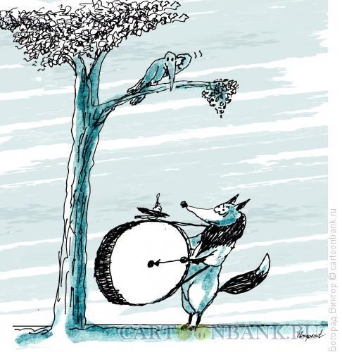 Карикатура: Громогластная лесть, Богорад Виктор
