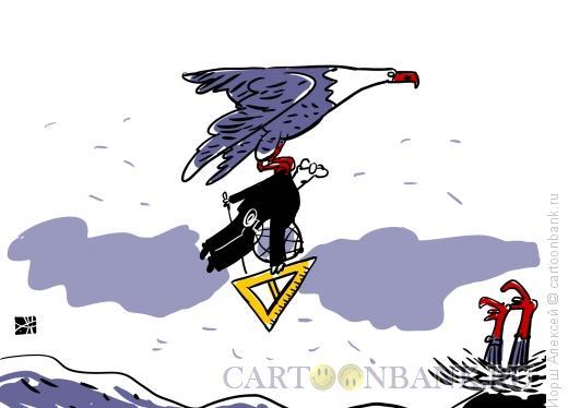 Карикатура: Учитель, Иорш Алексей