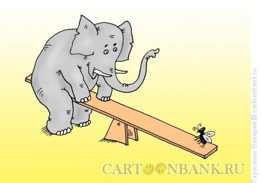 Карикатура: Сила воображения, Тарасенко Валерий
