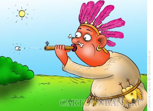 Карикатура: смертельный зуб, Соколов Сергей