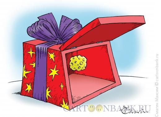 Карикатура: Новогодняя мышеловка, Смагин Максим