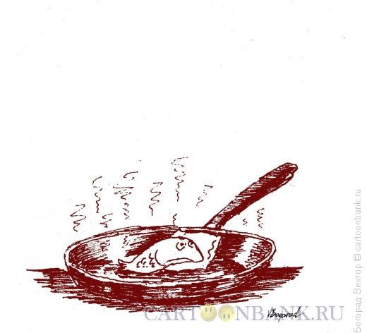Карикатура: Сон в жаркую ночь, Богорад Виктор