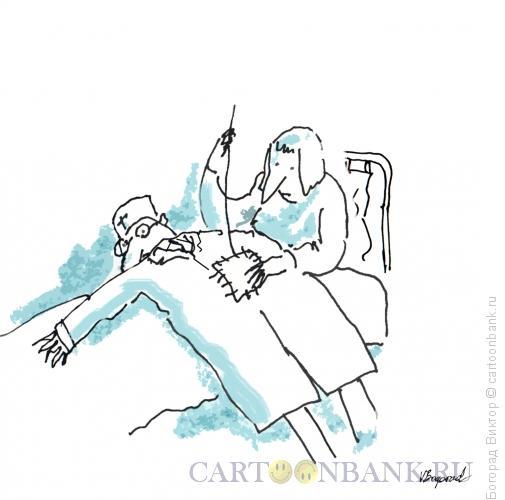 Карикатура: Операция, Богорад Виктор