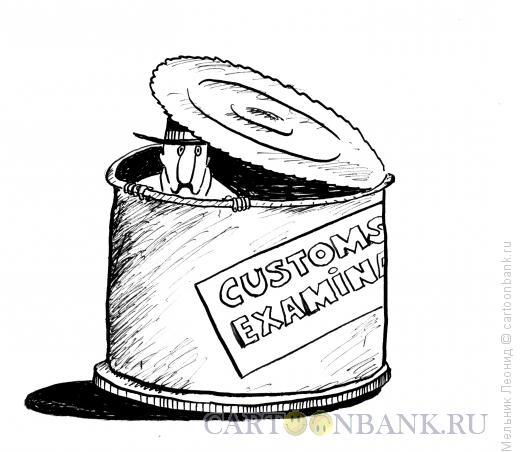 Карикатура: Тотальный контроль, Мельник Леонид