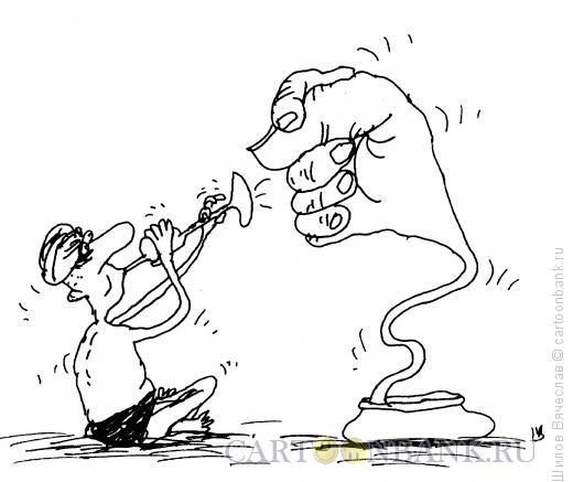 Карикатура: Йог, Шилов Вячеслав