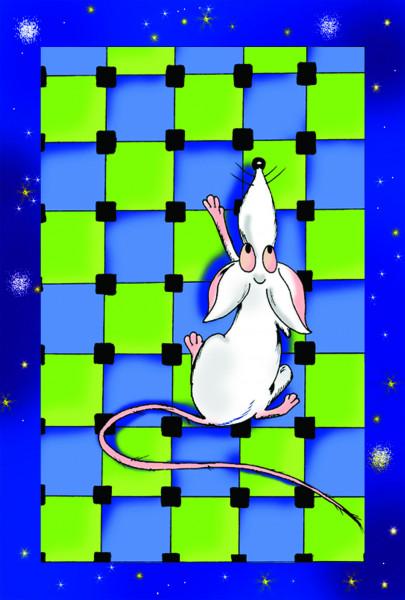 Карикатура: Новогодний зверек, Kapry